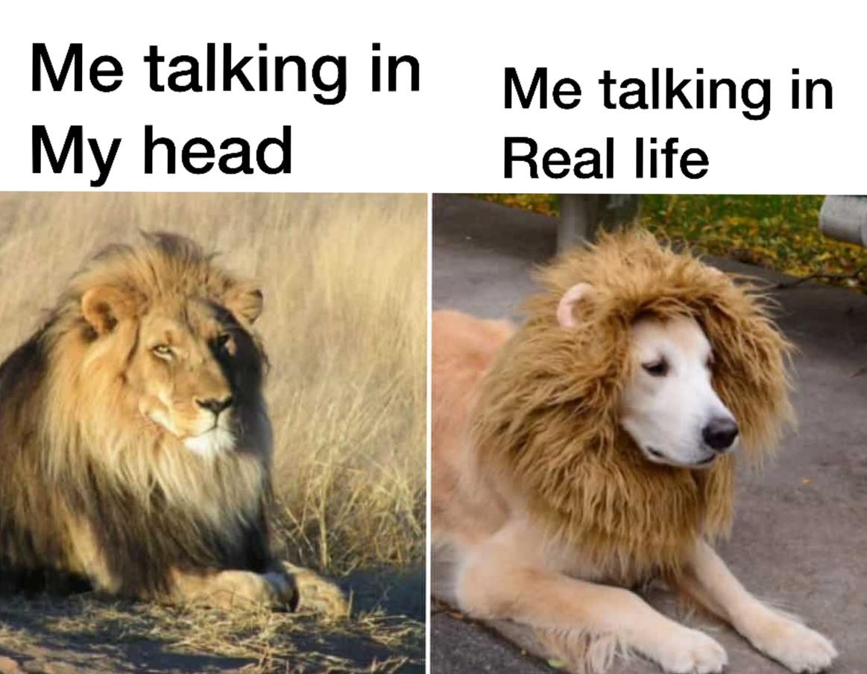 It be like that. - meme