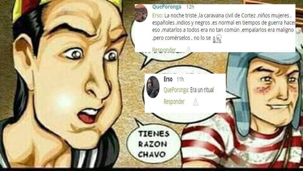 Cortez fundo México te guste o no, Benito le cambio de nombre ,y Moctezuma era un pajero tan odioso que lo mato su propio pueblo - meme