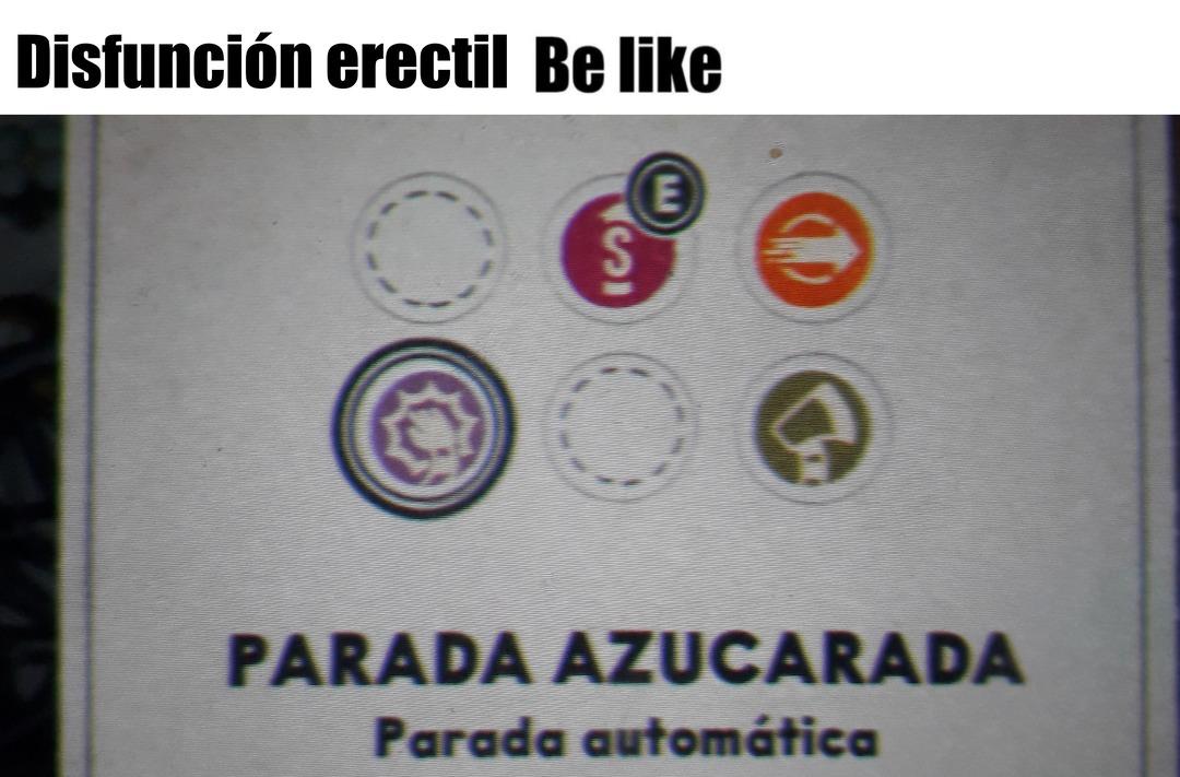 Parada automática - meme