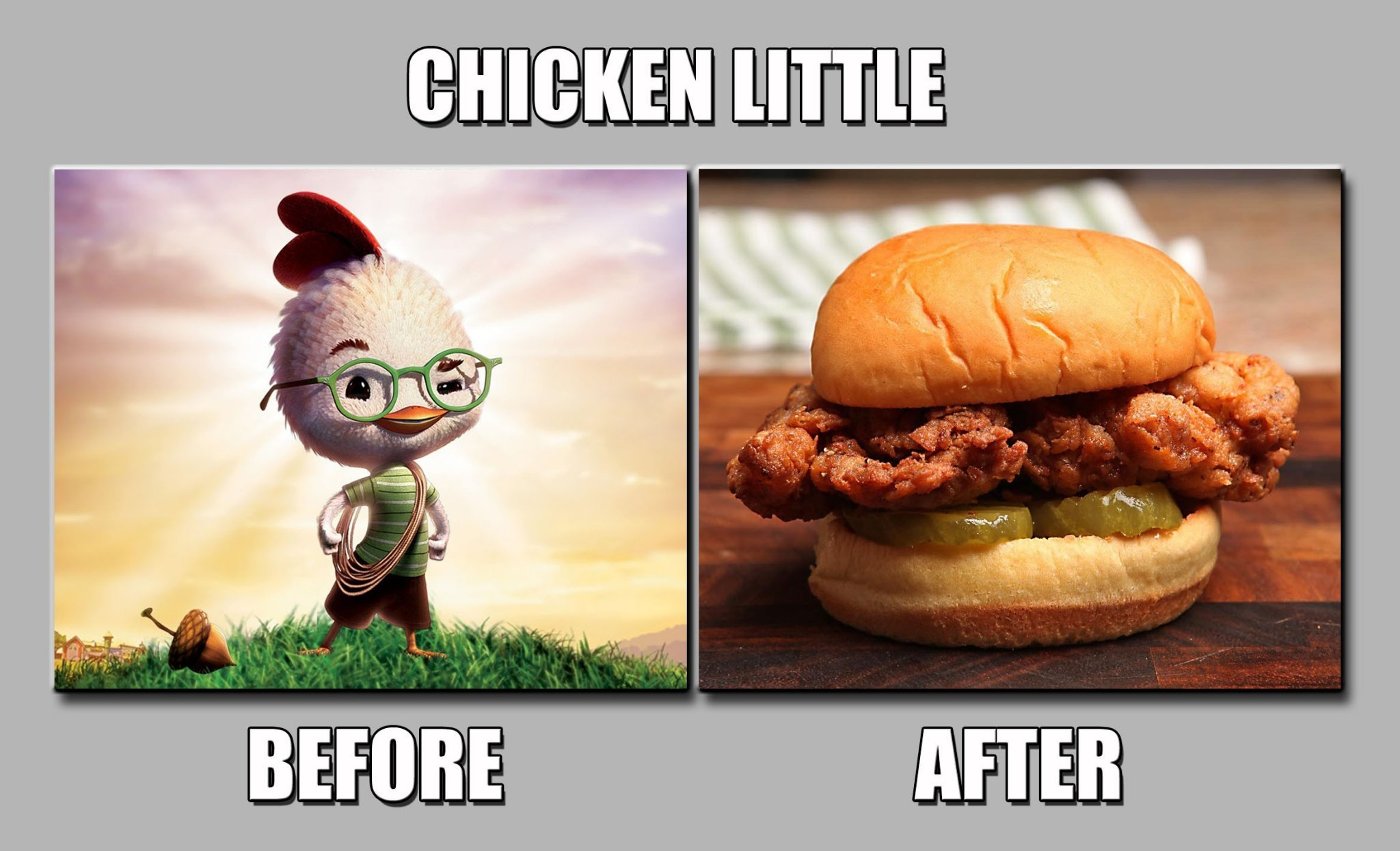 Chicken Little - meme