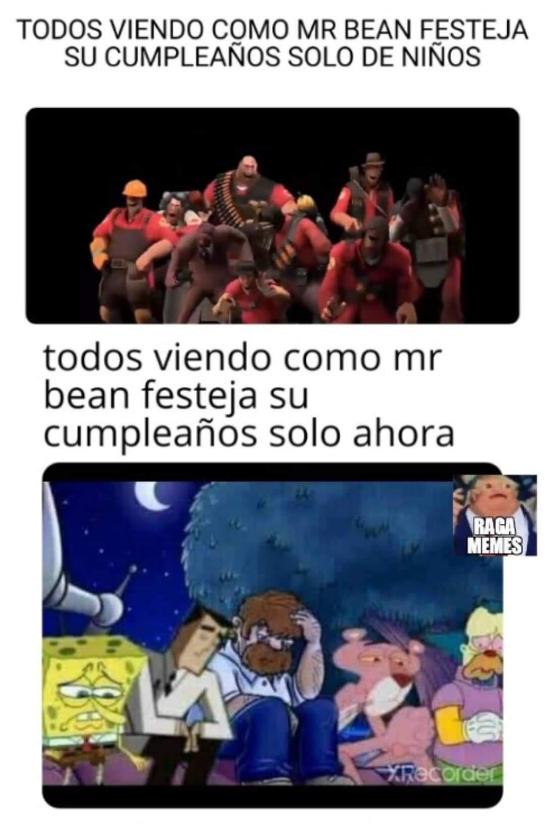 bean - meme