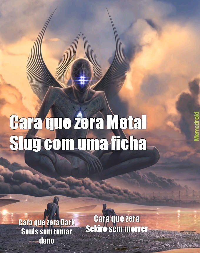 Um ser celestial - meme