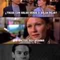 Peter, soy vegana