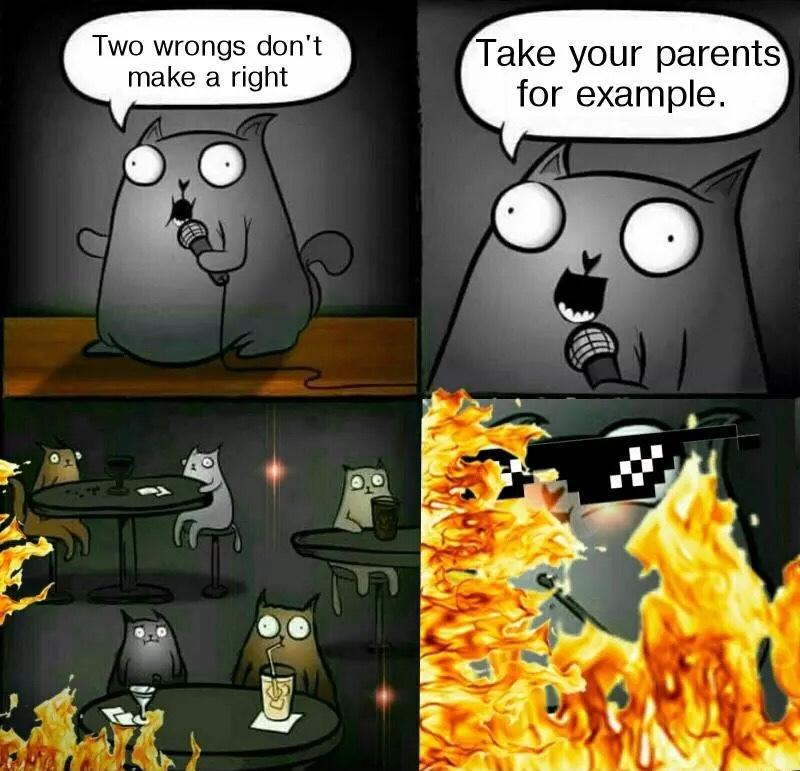 the burn.... ugh - meme