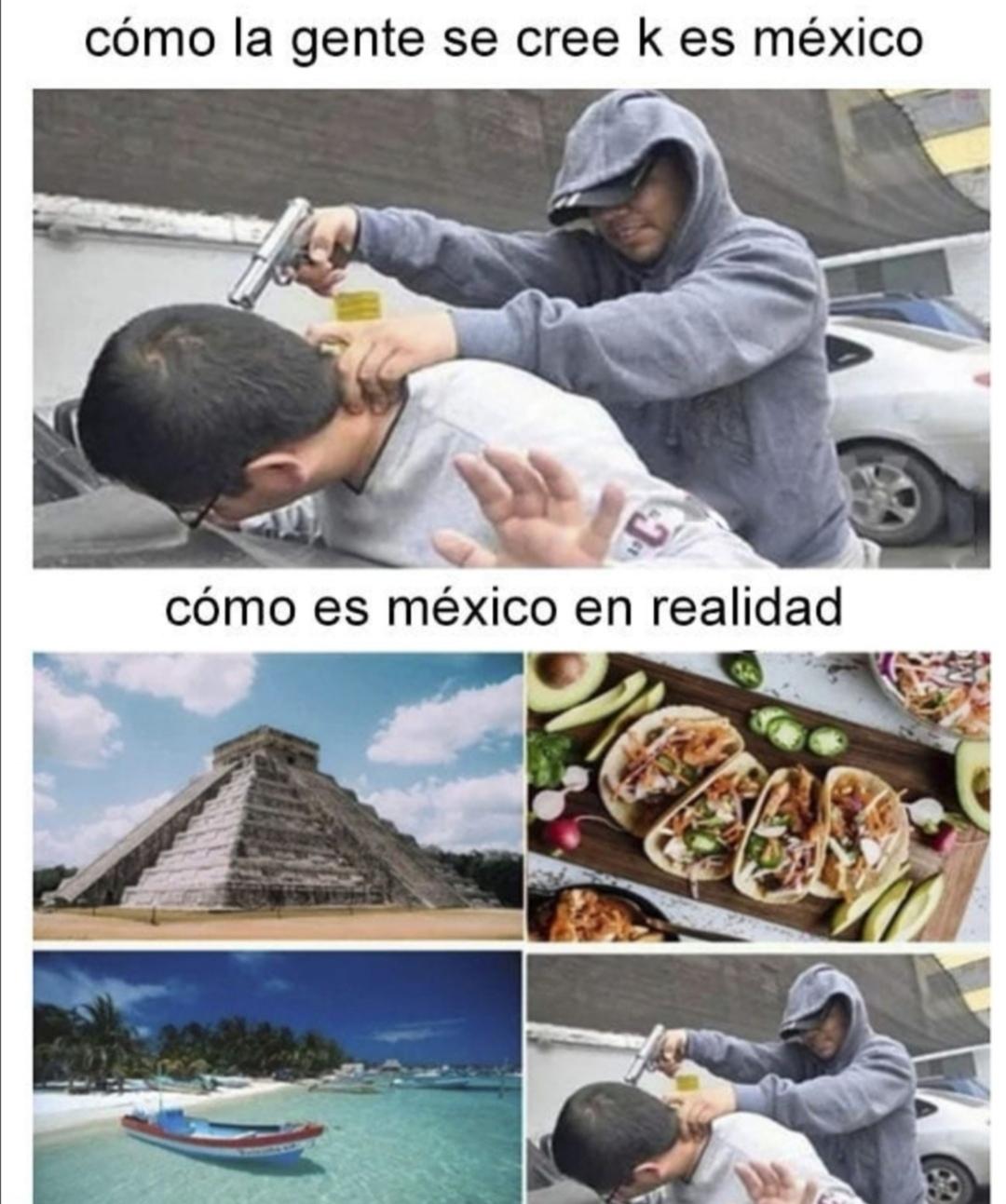 México de verdad :) - meme