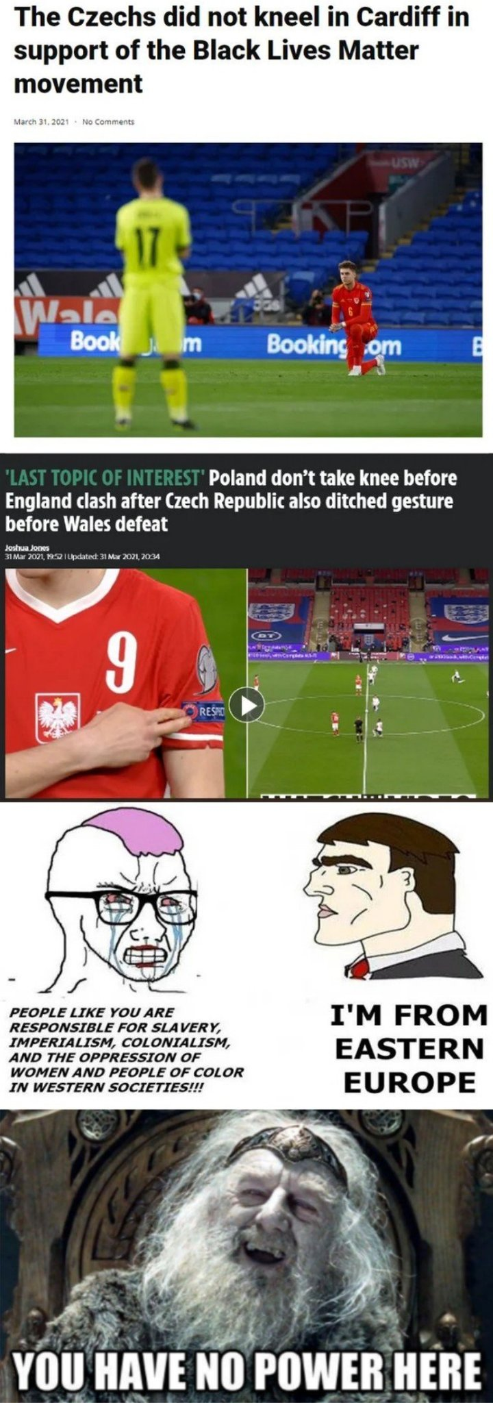 Poland & Czech:You have no power here - meme