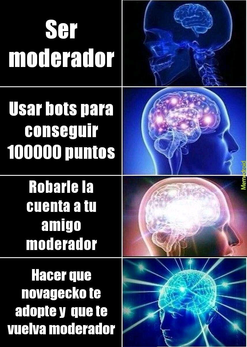 Moderador facil - meme