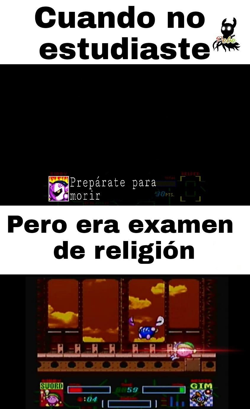 Me gusta religión :D - meme