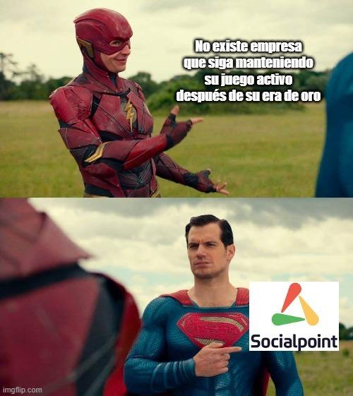 Unos capos los de Social Point - meme