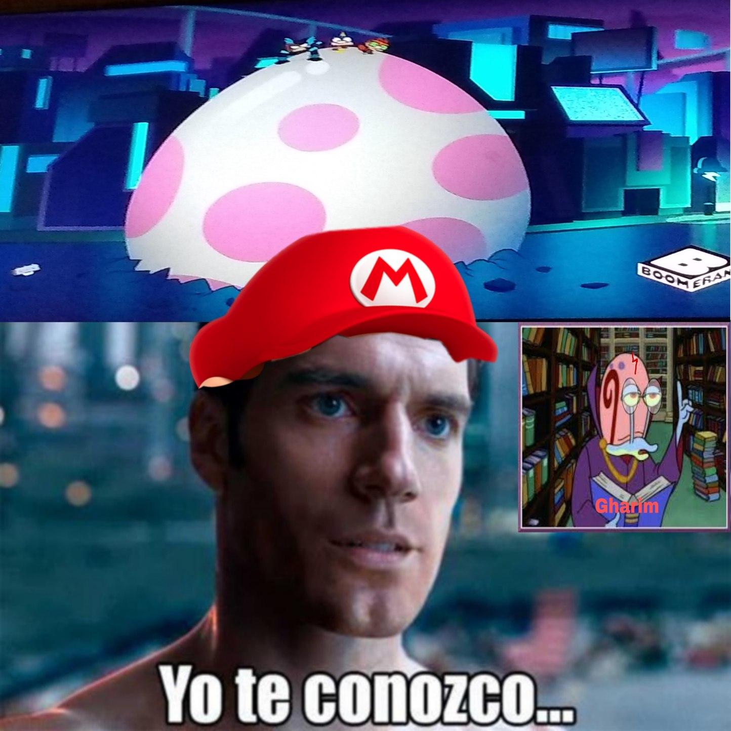 Entendí la referencia a Súper Mario, ojalá les guste - meme