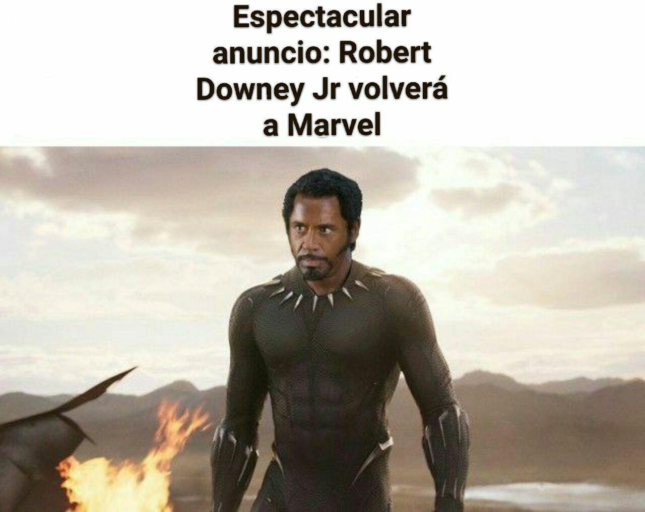 Finalmente, un nuevo Black Panther - meme