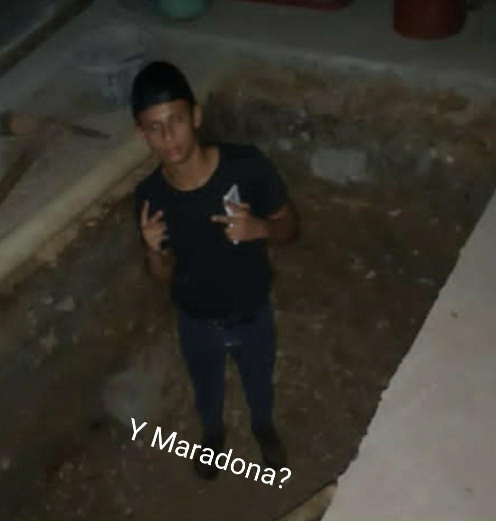 Dieguito Maradona - meme