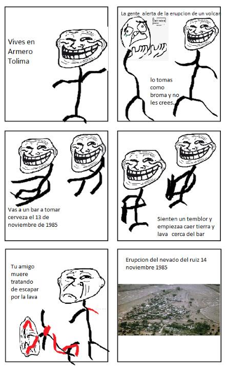 mi primer rage comic - meme