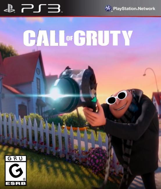 Call of Gruty PS3 - meme