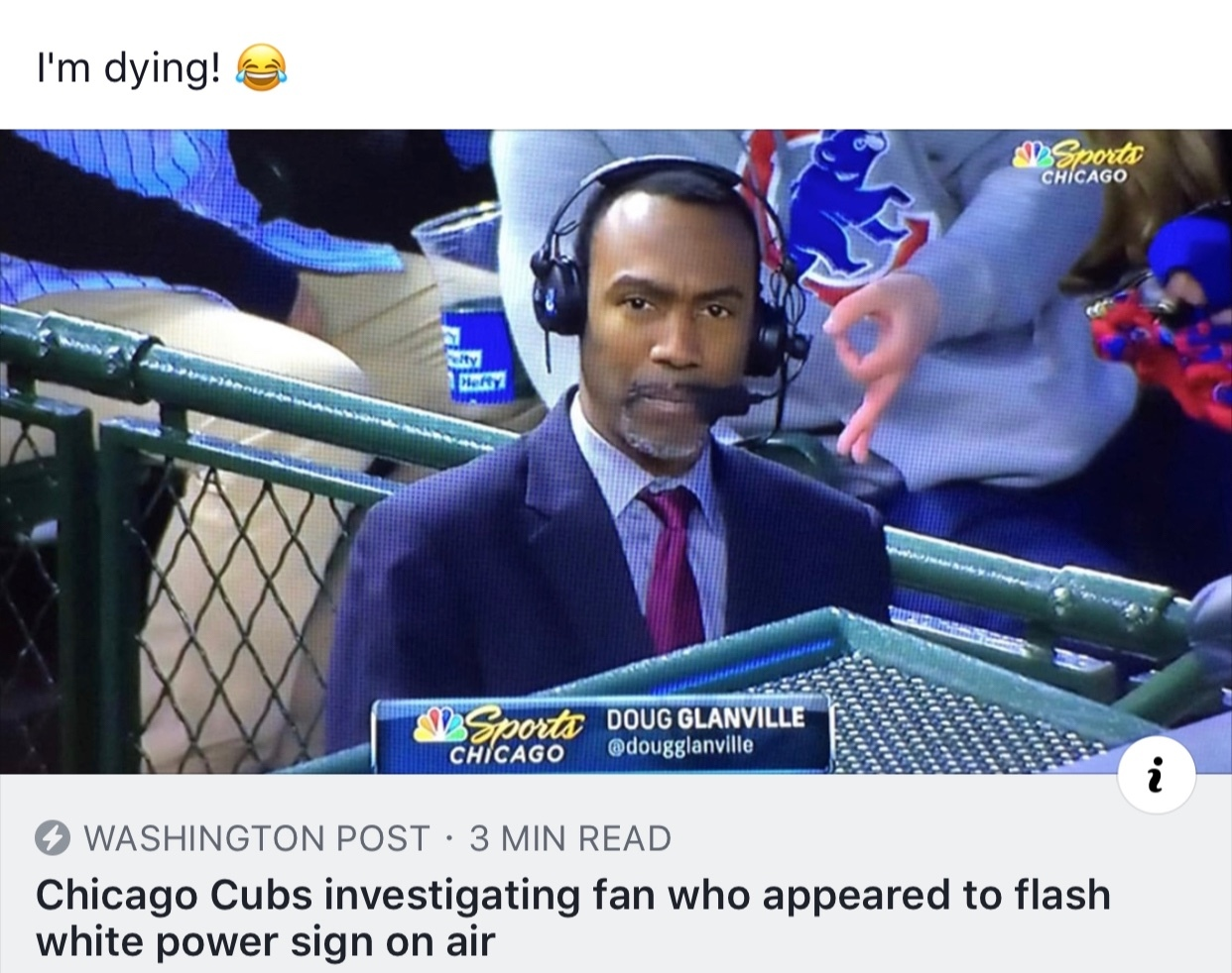 Damn. I had to look up where he lived so I can get punched. Clever Cubs fan. - meme