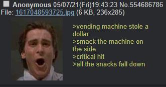 anon got a critical hit - meme