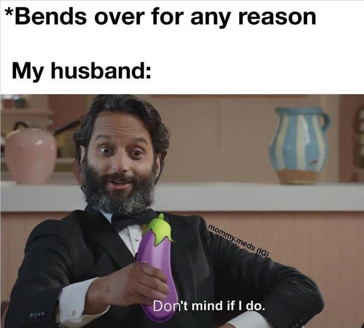 Bends over - meme
