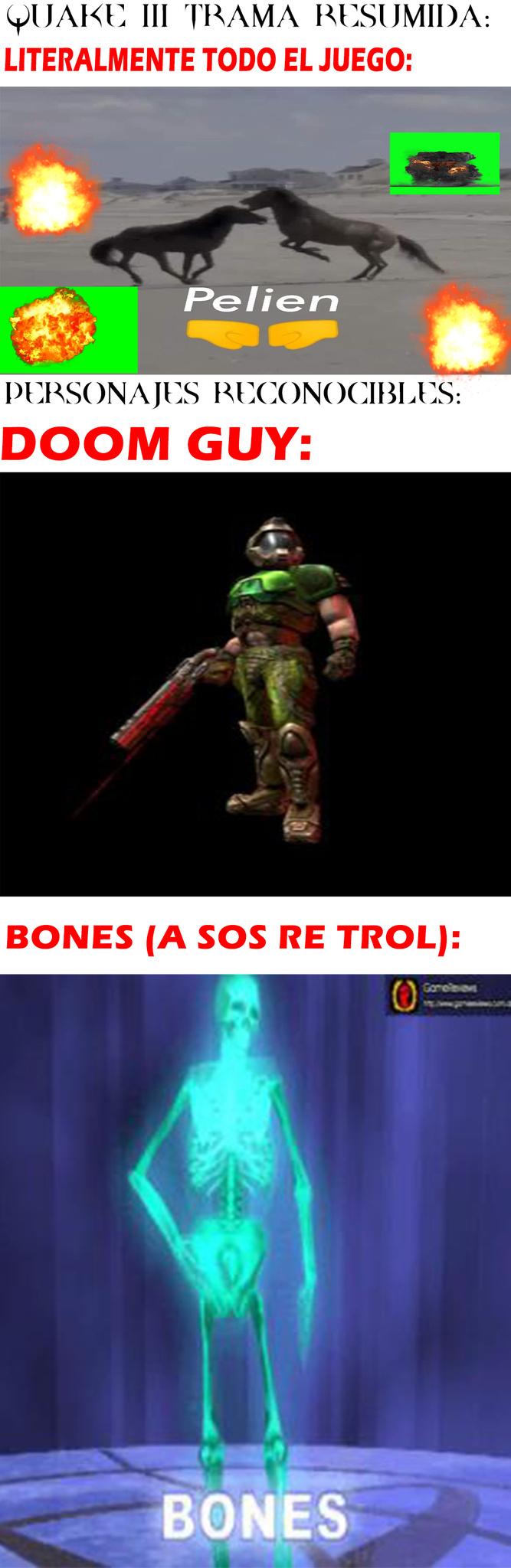 A sos re trol... el videojuego - meme