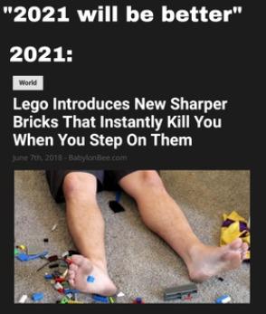 I hope you step on a lego - meme