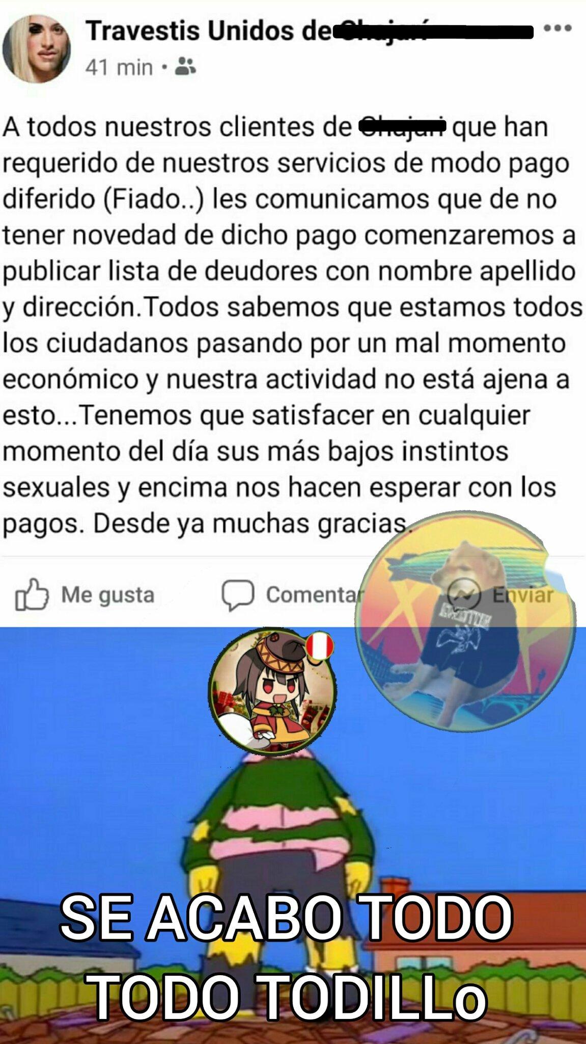 Cagaste Userdroid - meme