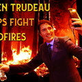 How trudeau fights wildfires