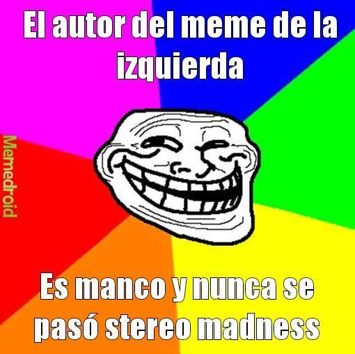 Bromista Rostro - meme