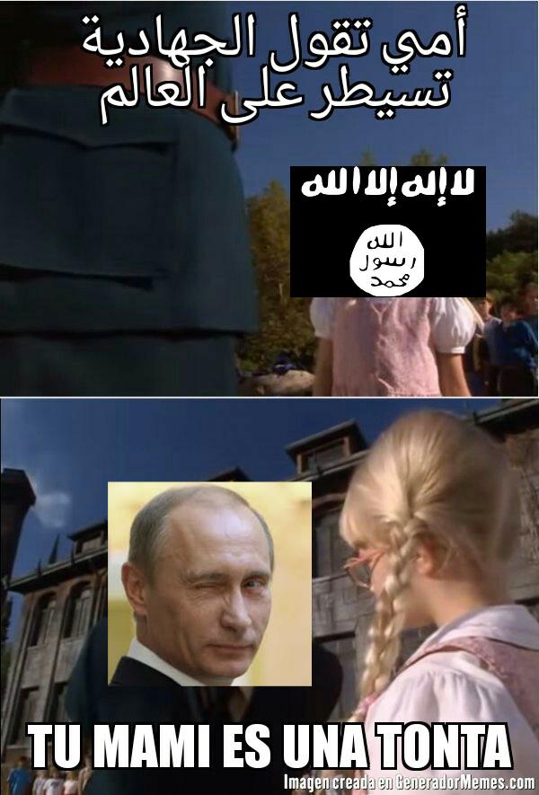 Allahu akbarajajhs! - meme