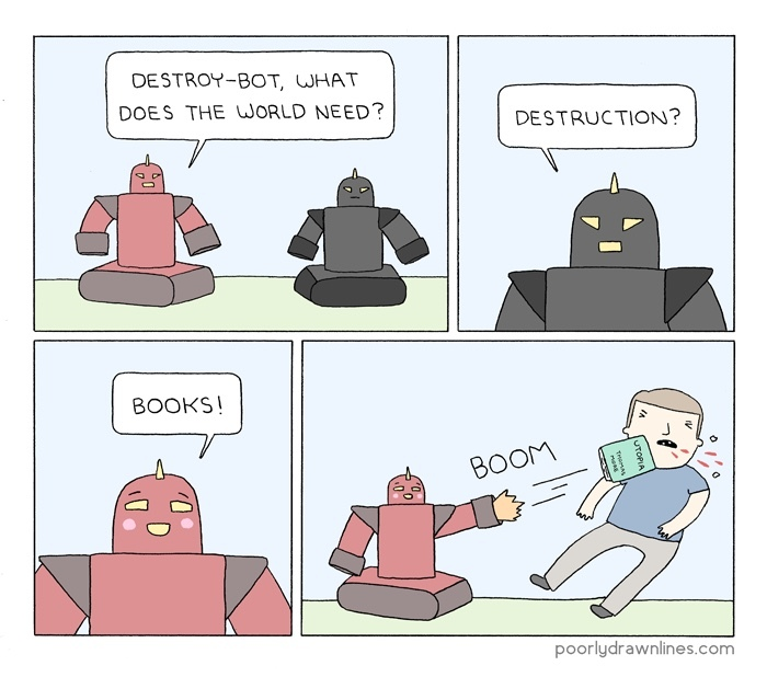 books - meme