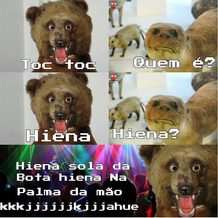 hiena - meme