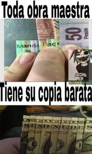 Stos gringos - meme