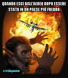 Che caldo in Italia - meme