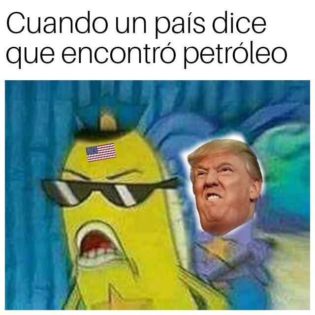 Esos gringos - meme