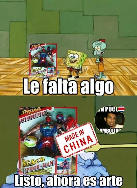 Estos chinos - meme
