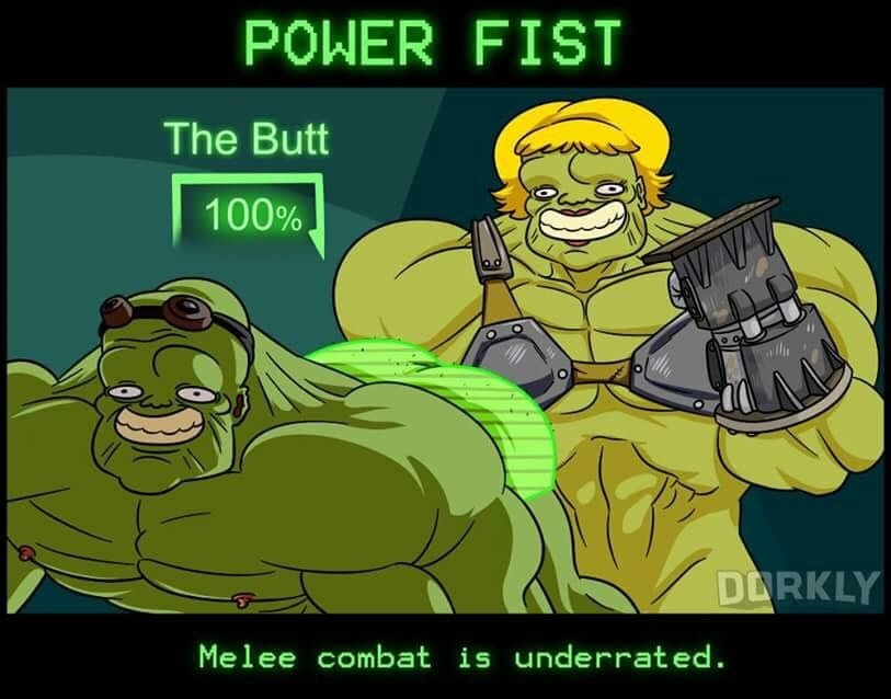 power fist - meme