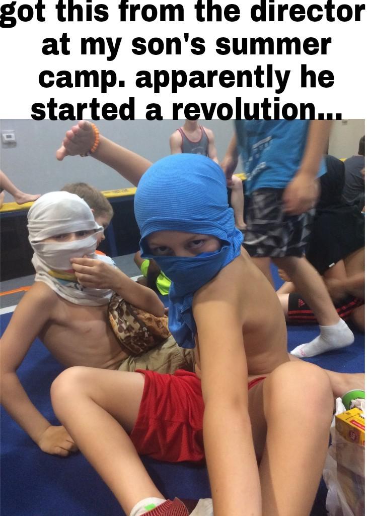 Ninja's unite - meme