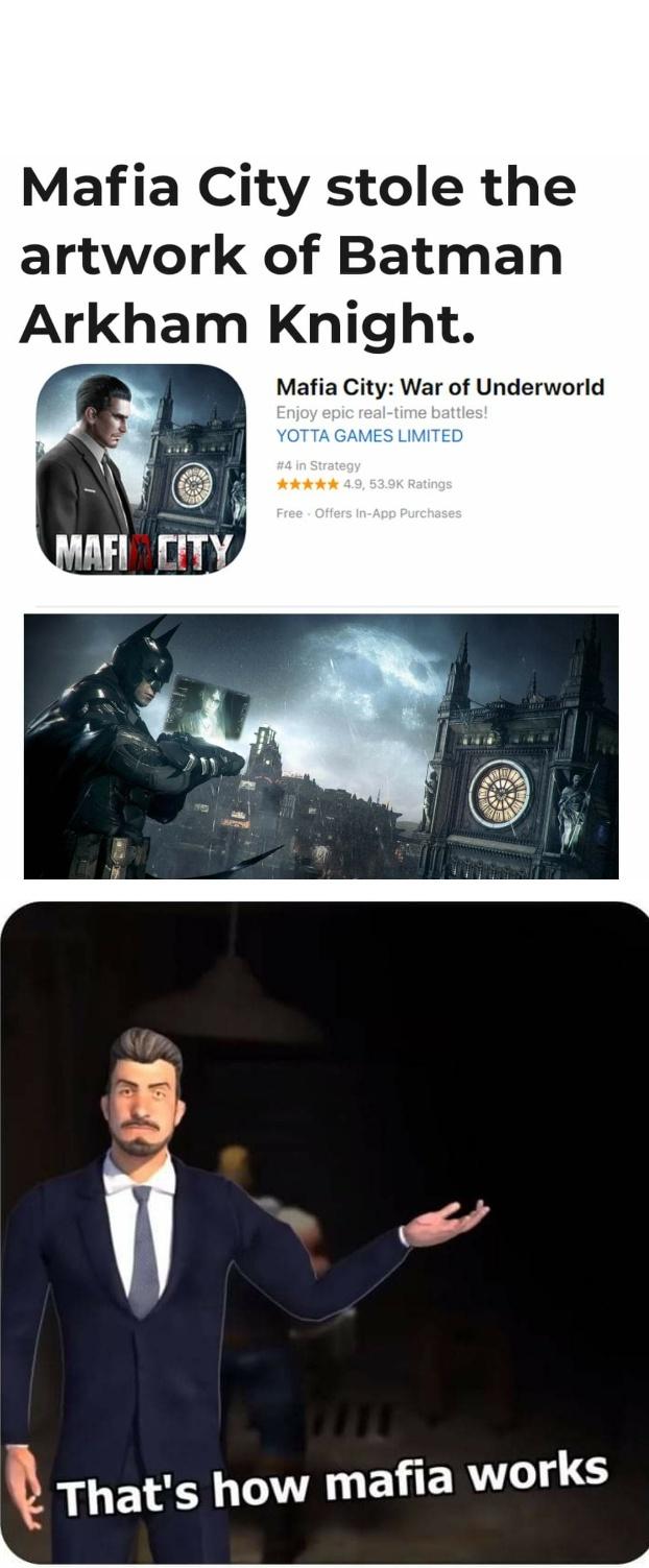That's how mafia works - Meme by Bphyrose :) Memedroid