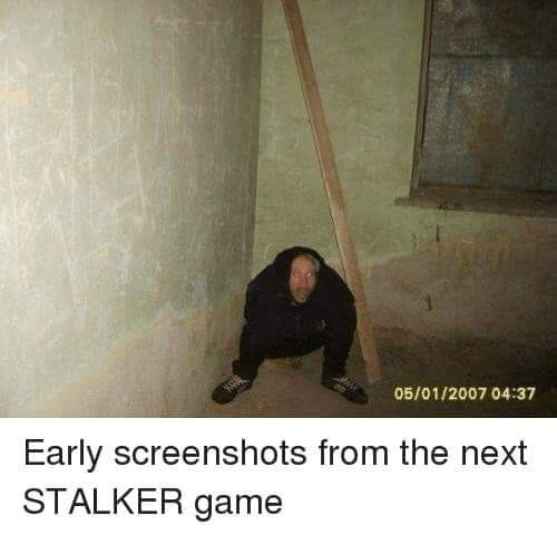 Stalker 2 is lit - meme