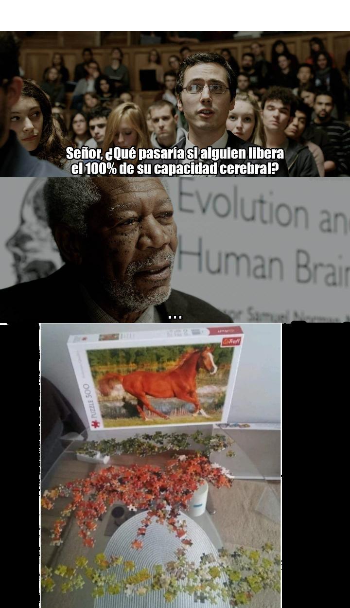 Así lo hacen los genios - meme