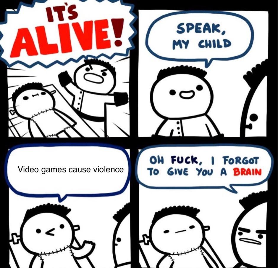 Video games - meme
