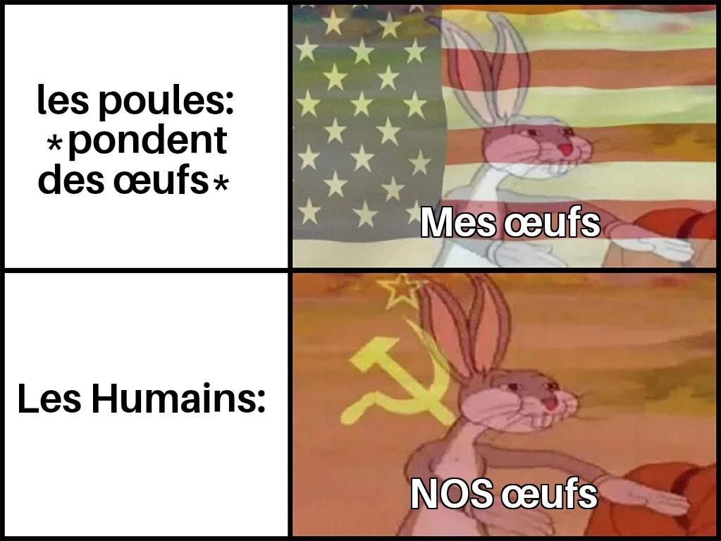 Le Communisme n'a jamais réellement disparu. - meme
