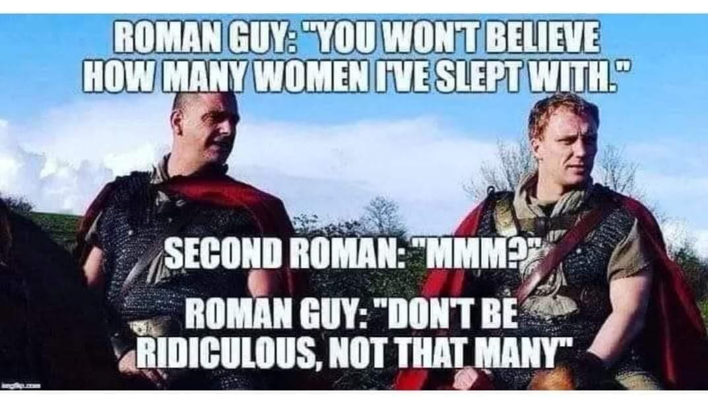 (M means 1000 in Roman numerals) - meme