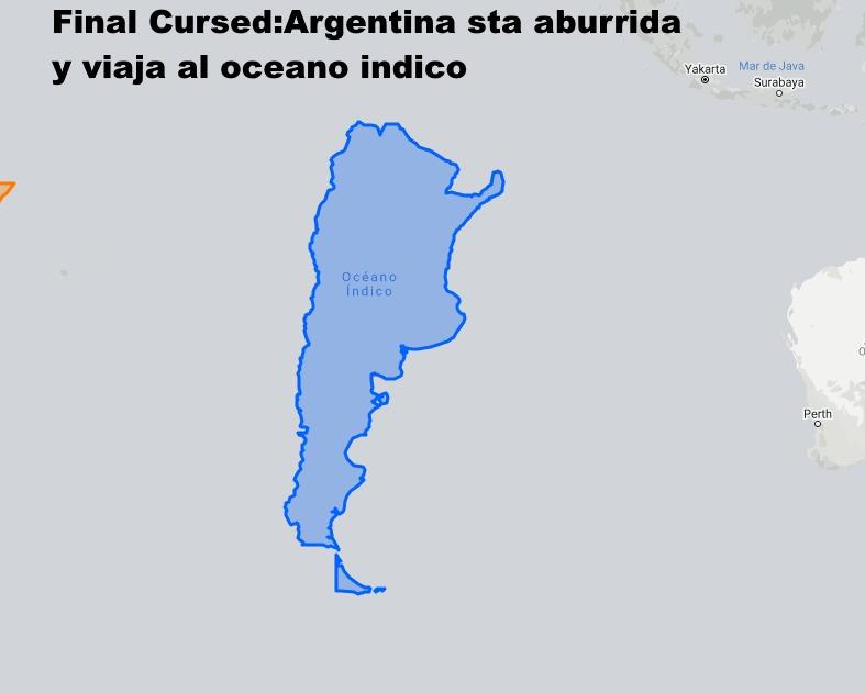 Argentina. Todos los finales - meme