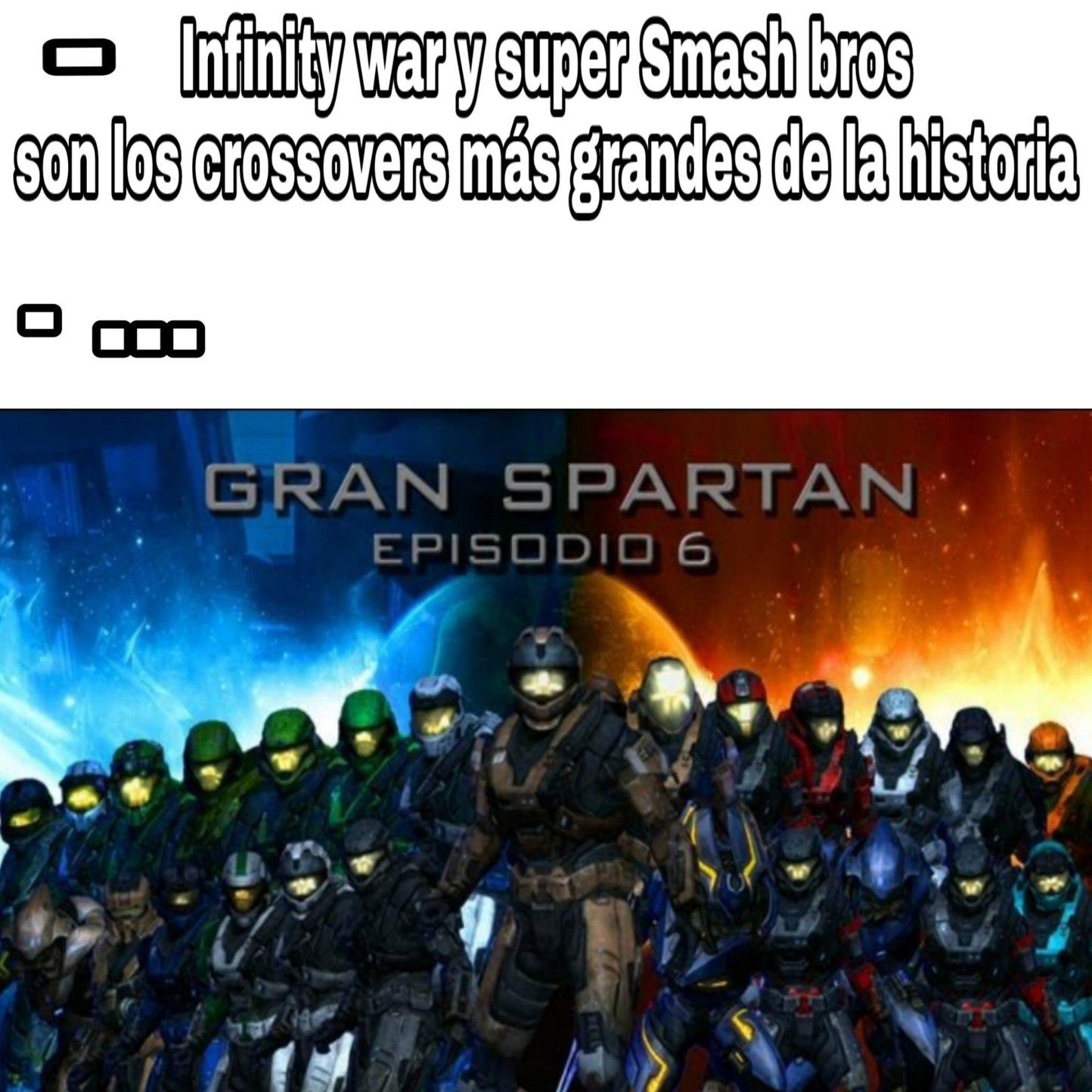 Pero que buen Machinima crossover - meme