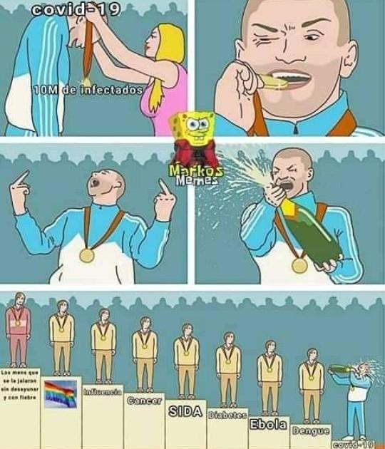 La homosexualidad, la mayor enfermedad del planeta (el meme no es mio)