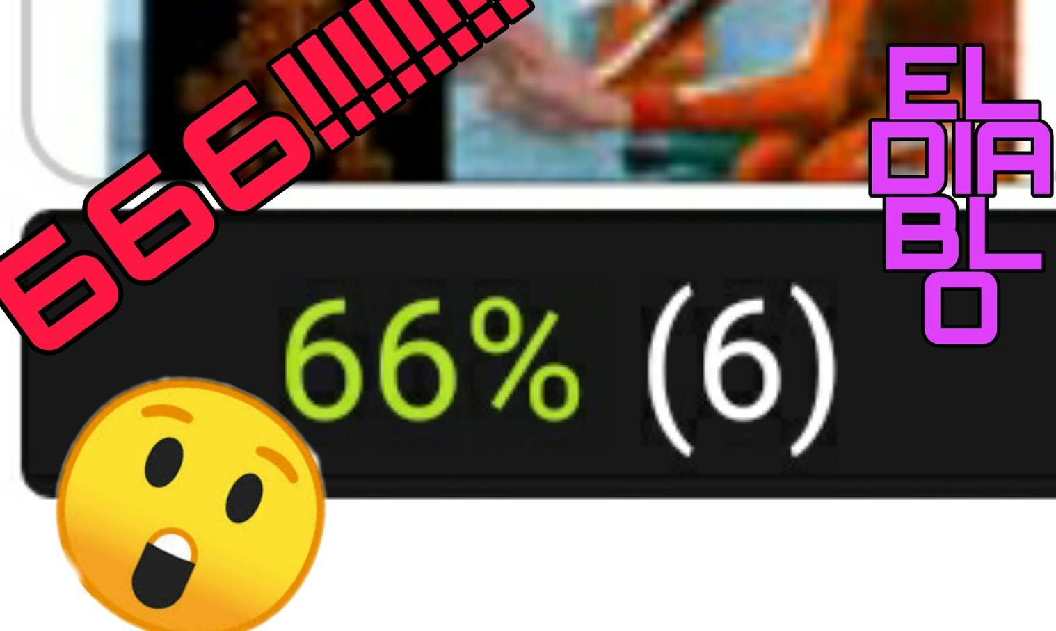 666 el numero miedoso - meme