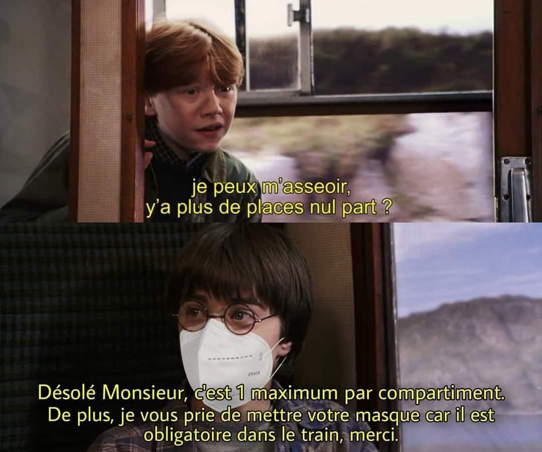 Oui j'aime Harry Potter - meme
