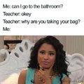 i kinda wish my male teacher would ask d;