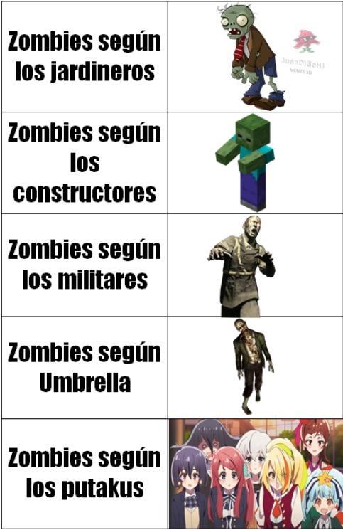 Zombies HD - meme