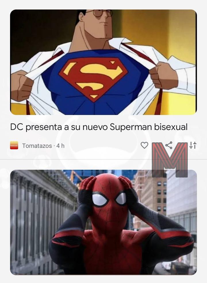 Justo aparecieron esas dos noticias seguidas xD (PD: la noticia de Spiderman es irrelevante para el meme)