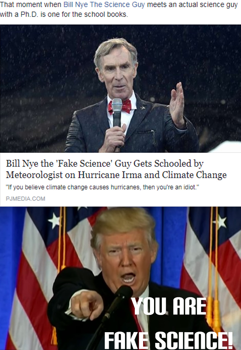 bill nye the fake science guy - meme